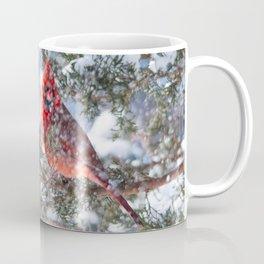Let It Snow (Northern Cardinal) Coffee Mug