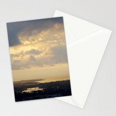 Sunrise Over South Long Beach Stationery Cards