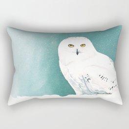 Arctic Eyes Rectangular Pillow