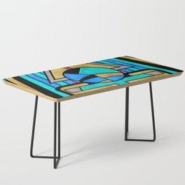 Scarabesque - Digital Art Deco Design Coffee Table