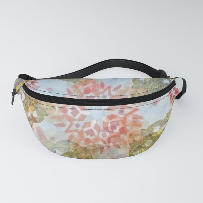 """ Salvia And Butterflies "" Fanny Pack"