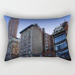 New York City Buildings NYC Rectangular Pillow