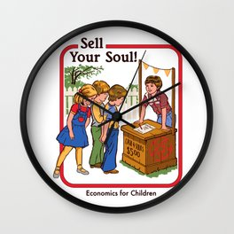 SELL YOUR SOUL Wall Clock