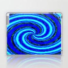 Abstract Blue Modern. Laptop & iPad Skin