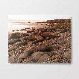 Rocky Beaches of Haida Gwaii, BC, Canada Metal Print
