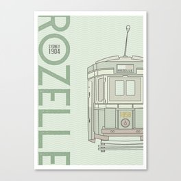Trams of the world - Sydney Canvas Print