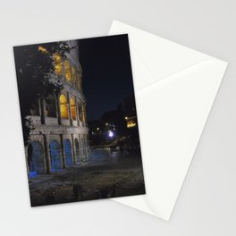 Colosseo di notte Stationery Cards