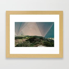 Sky Camping Framed Art Print