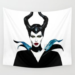 Maleficent  Wall Tapestry