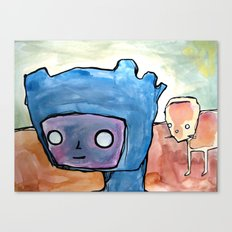 what do you mean?, what do I mean Canvas Print