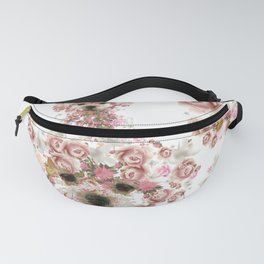 Vintage doggy Bichon frise.DISCOVER Fanny Pack