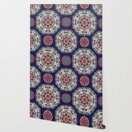 Colorful Mandala Pattern 007 Wallpaper