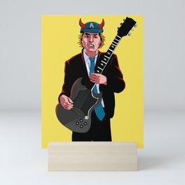 ACDC Angus Young Mini Art Print