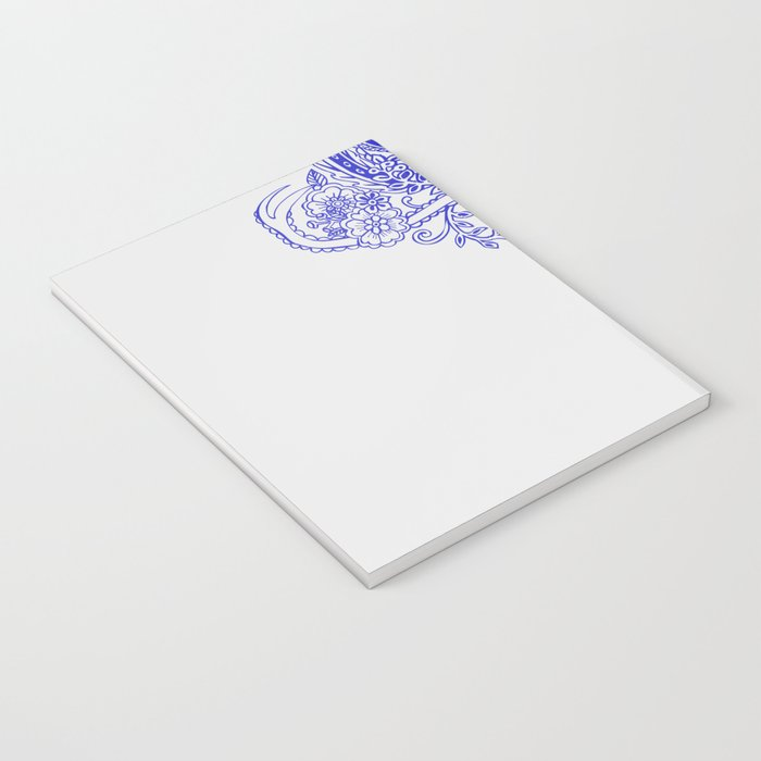 Little Blue Deer Notebook