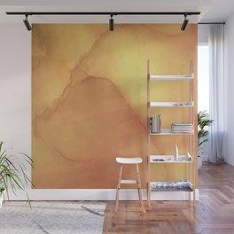 liquid gold Wall Mural