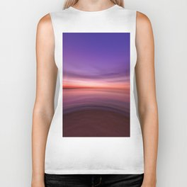 on the end of earth Biker Tank