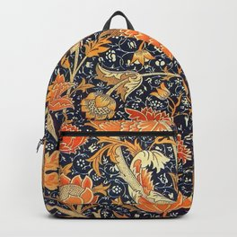 William Morris Cray Floral Art Nouveau Pattern Backpack