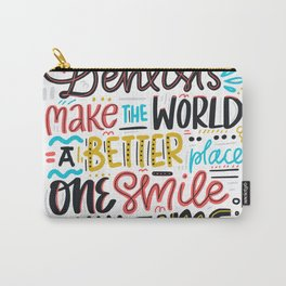 Dentist Lettering Quote Carry-All Pouch