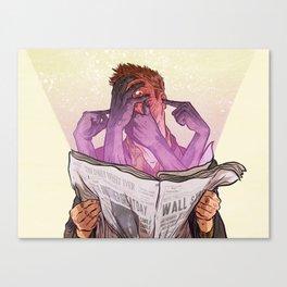 Fresh Disinformation Canvas Print