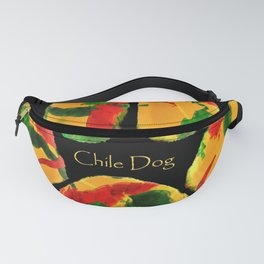 Chile Dog Print Fanny Pack