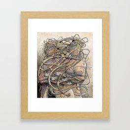 de hypterion II - Meta-Union - Biomechanic Love Framed Art Print