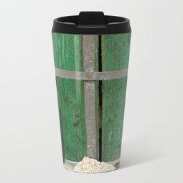 Empty Bottle Metal Travel Mug
