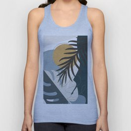 Abstract Tropical Art II Unisex Tank Top