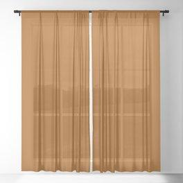 Windsor Tan Sheer Curtain