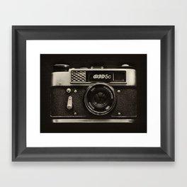 FED 5 | Vintage Camera Framed Art Print