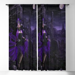 Dark Sorceress Blackout Curtain