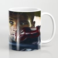drive Mugs featuring Drive by Jordan Grimmer