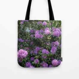 Rhododendron lilac Tote Bag