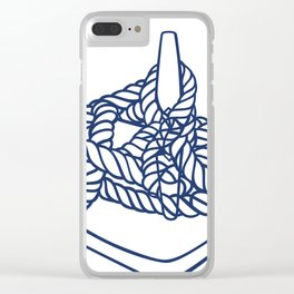 Knotical (WHITE) Clear iPhone Case