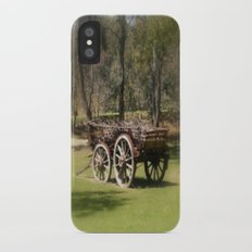 Wagon Wheels iPhone X Slim Case