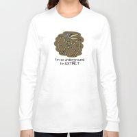 velvet underground Long Sleeve T-shirts featuring Underground by Sid's Shop