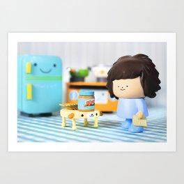Little B Art Print
