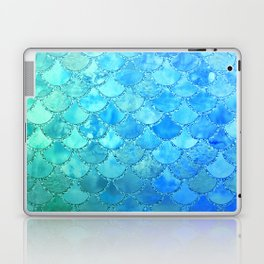 Summer Dream Colorful Trendy Mermaid Scales Laptop & iPad Skin