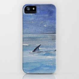 Shallow water iPhone Case