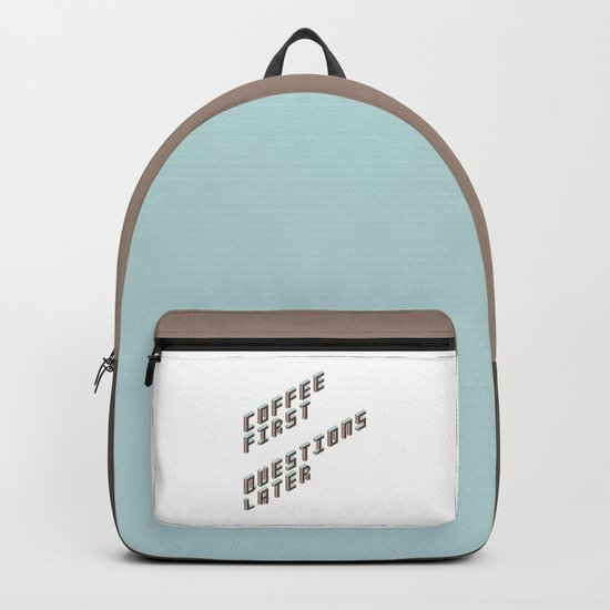 Coffee First Backpack