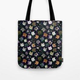 Cosmic Cats Tote Bag