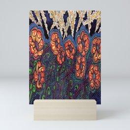 Poppies and Searchlights Mini Art Print