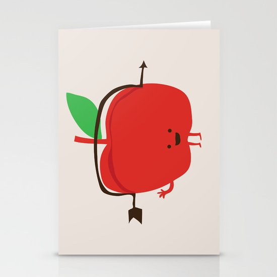 The Apple and The Arrow Stationery Cards