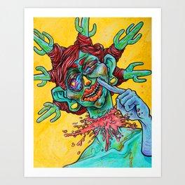 Desert Stressor Art Print