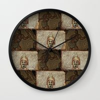 gladiator Wall Clocks featuring Gladiator II by Alec Bancher