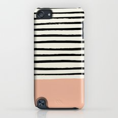 Peach x Stripes Slim Case iPod touch