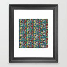 African Waterfall 2 Framed Art Print