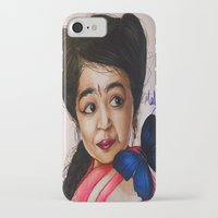 ahs iPhone & iPod Cases featuring Ma Petite-AHS by MELCHOMM