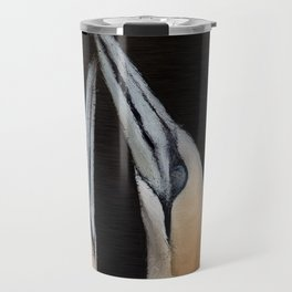 Gannets In Love Travel Mug