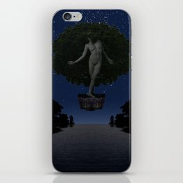 The Safety Series - Safe Under the Stars iPhone Skin