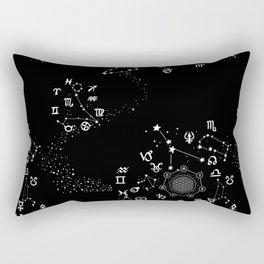 Astrology Zodiac Rectangular Pillow